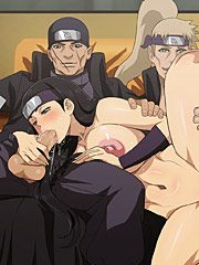 Naruto bomb: Perverted foursome sex adventures by Cyberunique
