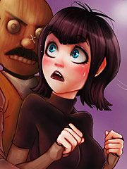 Hotel Transylvania - Count Dracula, Jonathan, Mavis, Frank, Wanda by Cartoon Reality